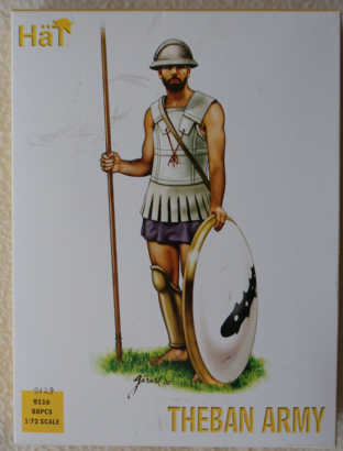 HaT 1/72 HAT8129 Theban Army (Ancients)
